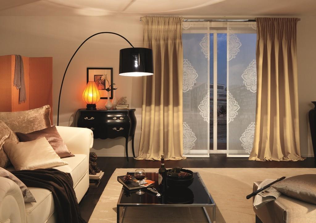 heimtextilien gardinen stoffe bergardinen stores raumgestaltung gardinen sonnenschutz. Black Bedroom Furniture Sets. Home Design Ideas